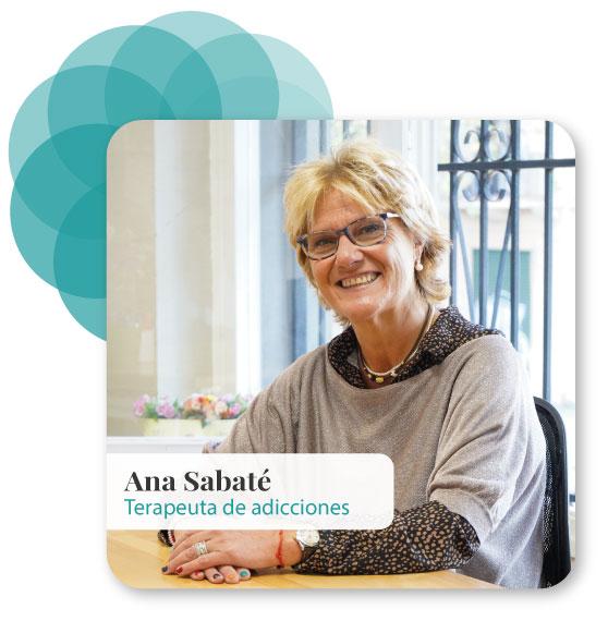 Imagen de Ana Sabaté - Terapeuta de adicciones