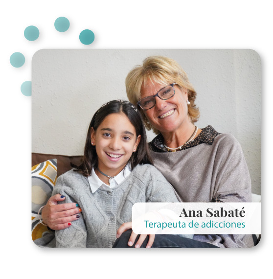 Foto Ana Sabaté con su hija